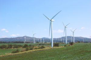Futamata vindkraftverk (Aomori) Foto med tillatelse fra Japans vindutvikling