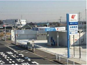 Hydrogenstasjon i Japan (2021)